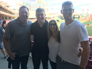 David, Bryce, Shari, and Jacob Crabtree